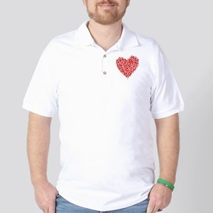Heart Pieces Golf Shirt