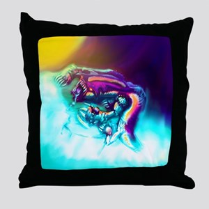 Xenolisk Throw Pillow