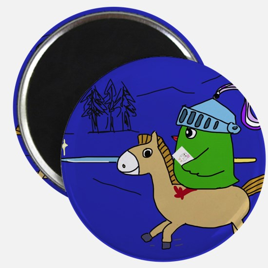 The knight is coming Magnets