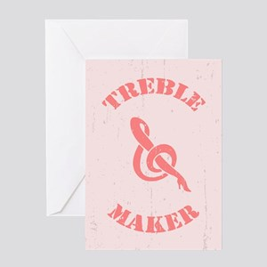Treble Maker Greeting Card