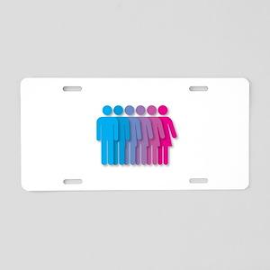 intersex Aluminum License Plate