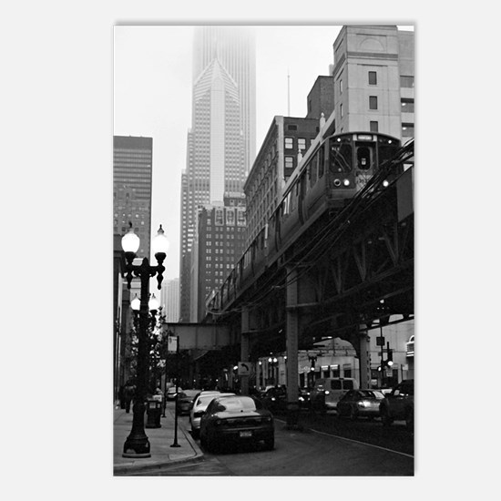 El on a Foggy Day Postcards (Package of 8)