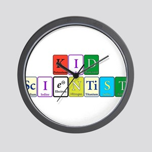 Kid Scientist Wall Clock
