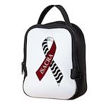 Awareness Ribbon Neoprene Neoprene Lunch Bag