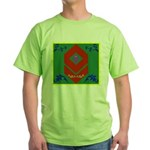 Military Duchess Rank Badge Green T-Shirt