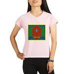 Military Duchess Rank Badg Performance Dry T-Shirt