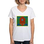 Military Duchess Rank Badge Women's V-Neck T-Shirt