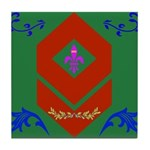 Military Duchess Rank Badge Tile Coaster