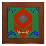 Military Duchess Rank Badge Framed Tile