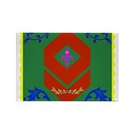 Military Duchess Rank Rectangle Magnet (100 pack)