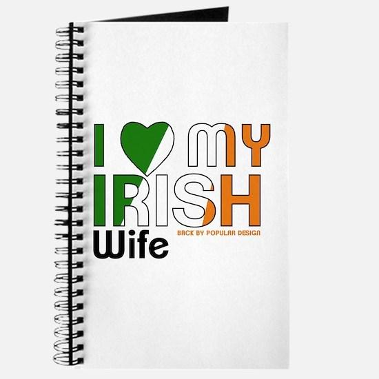 I Love My Irish Wife Journal
