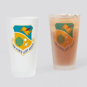 AF Audit Agency Drinking Glass