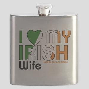 I Love My Irish Wife Flask