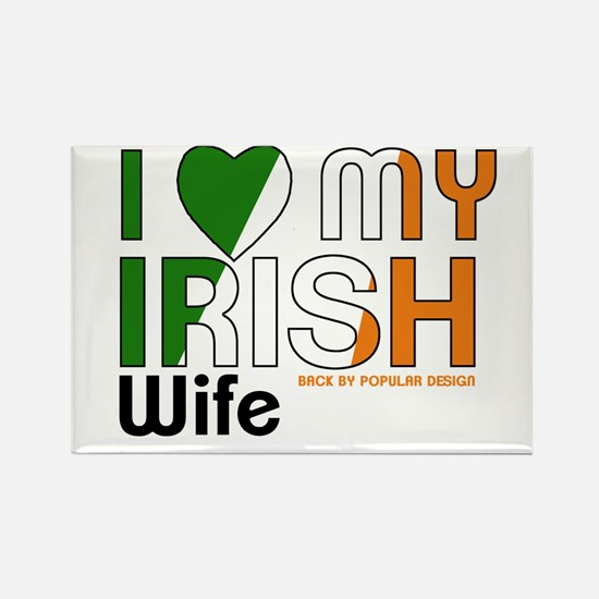I Love My Irish Wife Magnets