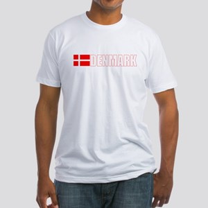 Denmark Fitted T-Shirt