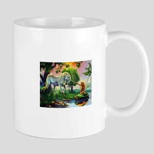 Unicorn and A Mermaid Mugs