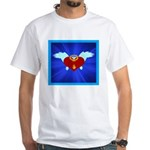Sufi Peace Equality Graphic White T-Shirt