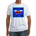 Sufi Peace Equality Graphic Fitted T-Shirt