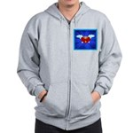 Sufi Peace Equality Graphic Zip Hoodie