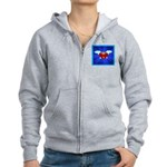Sufi Peace Equality Graphic Women's Zip Hoodie