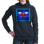 Sufi Peace Equality Graphic Hooded Sweatshirt