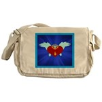 Sufi Peace Equality Graphic Messenger Bag