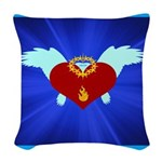 Sufi Peace Equality Graphic Woven Throw Pillow
