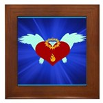 Sufi Peace Equality Graphic Framed Tile