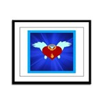 Sufi Peace Equality Graphic Framed Panel Print