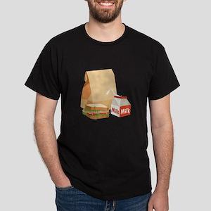 Paper Bag Milk Sandwich T-Shirt