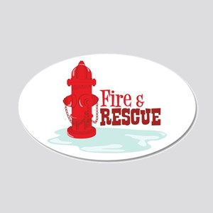 Fire And Rescue Wall Decal