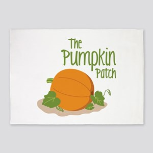The Pumpkin Patch 5'x7'Area Rug