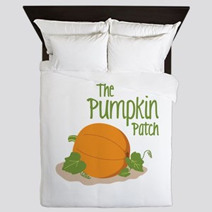 The Pumpkin Patch Queen Duvet