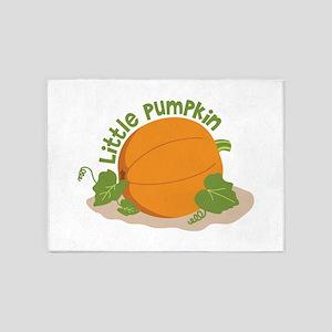Little Pumpkin 5'x7'Area Rug