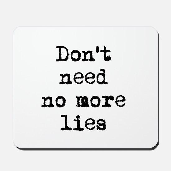 Lies Mousepad