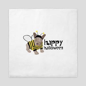 happy halloween Queen Duvet