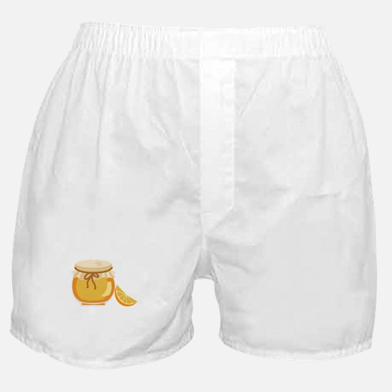 Orange Marmalade Jelly Jar Boxer Shorts