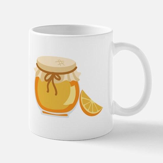 Orange Marmalade Jelly Jar Mugs