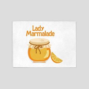 Lady Marmalade 5'x7'Area Rug