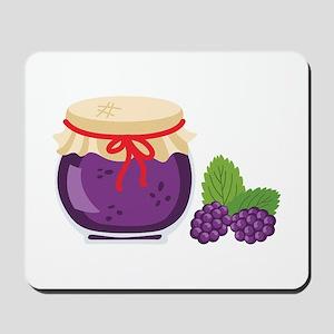 Blackberry Jam Jar Mousepad