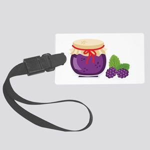 Blackberry Jam Jar Luggage Tag