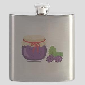 Blackberry Jam Jar Flask
