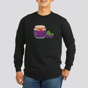 Blackberry Jam Jar Long Sleeve T-Shirt