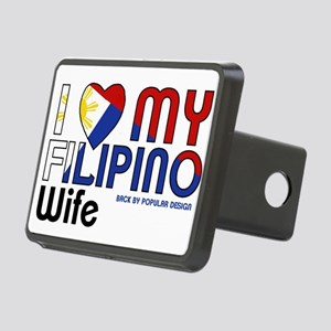I Love My Filipino Wife Hitch Cover