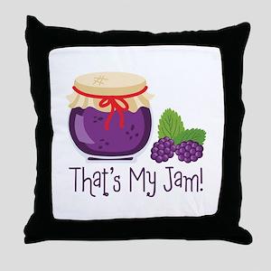 Thats My Jam! Throw Pillow