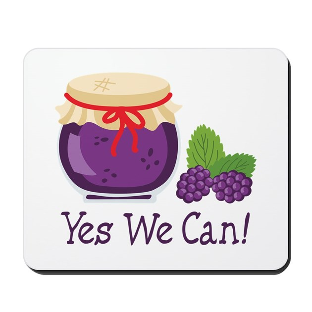 Yes we can mousepad by hopscotch6 for Bett yes we can