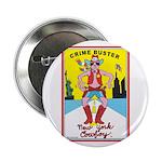 CRIME BUSTER(New York Cowboy) Button (10 pk)