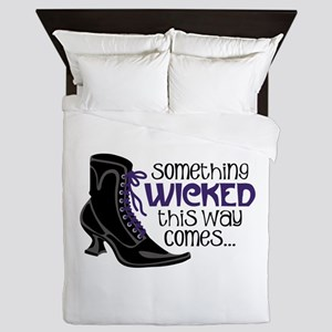 something WICKED this way comes... Queen Duvet