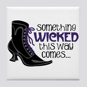 something WICKED this way comes... Tile Coaster