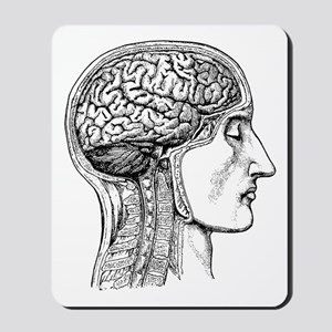 The Human Brain Mousepad